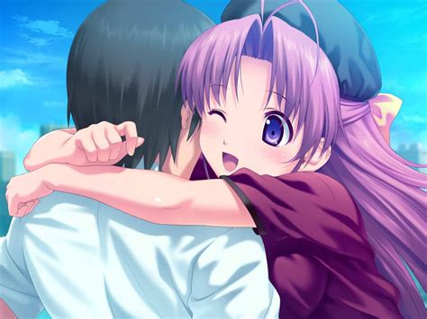 Anime Hug Wallpapers - hug hugging mood happy