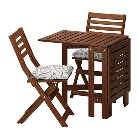 chaise pliante exterieur äpplarö table 2 chaises pliantes extérieur äpplarö