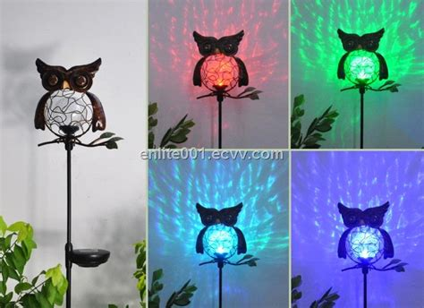Product Of The Week An Interactive Owl Shaped Security by Owl Shape Led Solar Garden Decoration Light Glass Metal