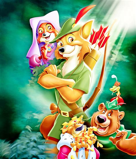 Epic Disney Watchfest 5: Robin Hood and The Rescuers Down ...