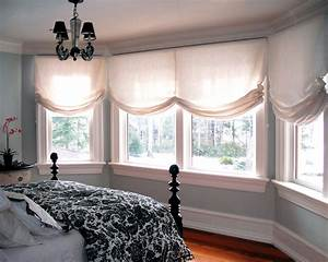 Decor Ideas, Traditional Bedrooms, Relaxing Romans Shades