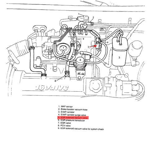 Geo Tracker Engine Diagram 8 Valve by My Engine Light Came On With The Code For Egr Flow I