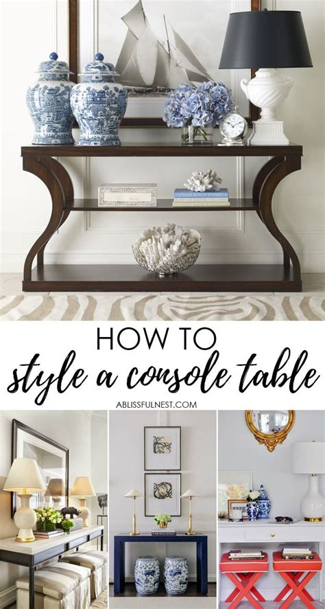 Style Entry Table Like Pro by Style A Console Table Like A Pro With These 5 Designer