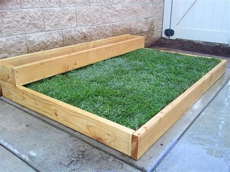 planting grass on concrete part 1 planters the
