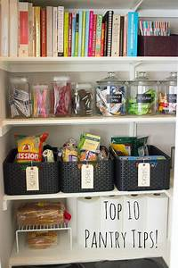 organizing a pantry 10 Simple Steps to Organizing Your Pantry | Design Improvised