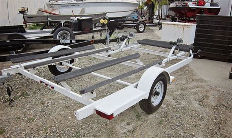 Zieman Boat Trailers by 2006 Used Zieman 3 Place Jet Ski Trailer For Sale