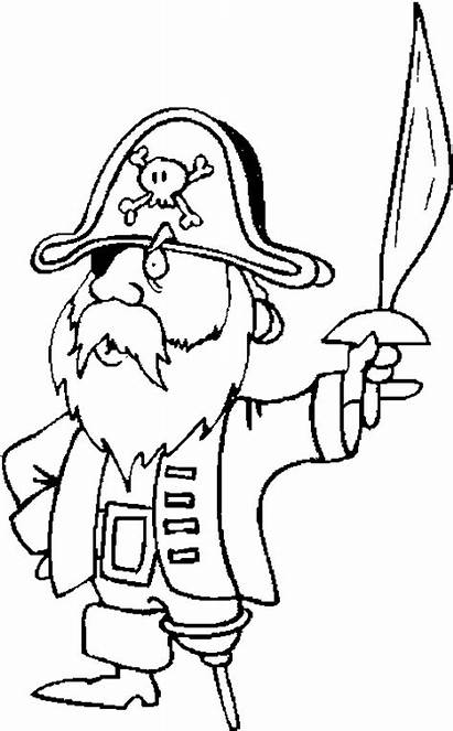 Pirates Pages Pirate Coloring Cartoon Printable Previous