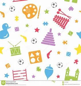 Kids Toys Seamless Pattern [2] Royalty Free Stock Photos ...