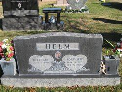 bobby helms burial bobby ray helm 1933 2004 find a grave memorial