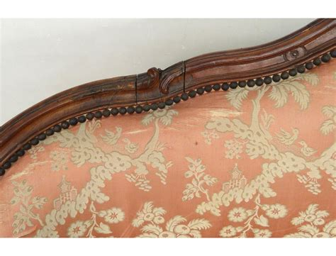 canap banquette sofa bench carved walnut louis xv trash st tilliard