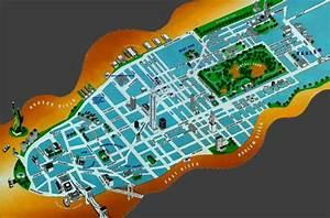 Plan De Manhattan : plan de new york manhattan par quartier roger habilleur ~ Melissatoandfro.com Idées de Décoration