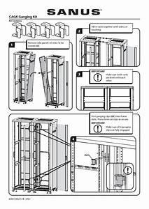 Sanus Cagk Ganging Kit  Fits Cfr2144  Cfr2136  Cfr2127 And