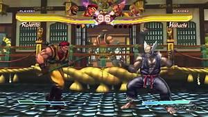 Street Fighter X Tekken Zangief U0026 Rolento Character Moves