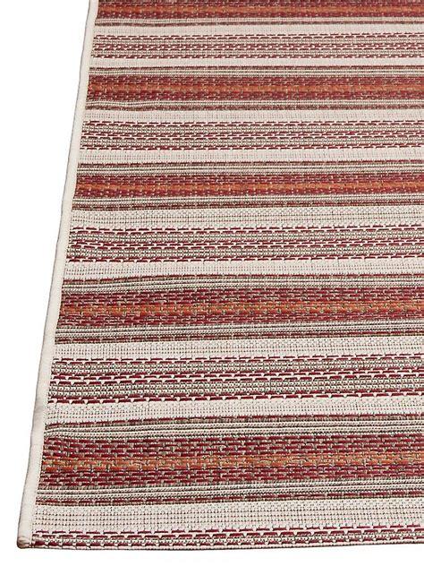 teppich fur draussen outdoor teppich für terrasse balkon rot braun