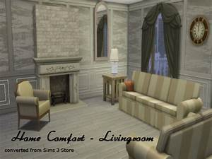 home comfort livingroom conversion at chillis sims sims With home comfort living room furniture