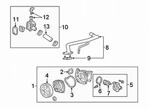 Chevrolet Colorado Engine Coolant Bypass Pipe  Liter