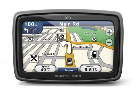 Generic Gps Navigation System Device (3d Illustration