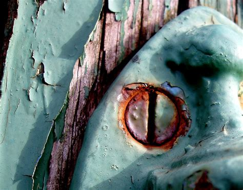 paint rust decay behance