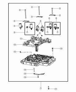 Dodge Challenger Valve Body  Complete  Module  Control