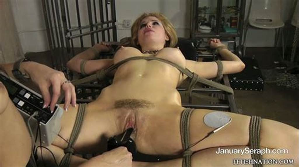 #Tied #Busty #Candle #Boxxx #Gets #Her #Hole #Punished #Hard #By