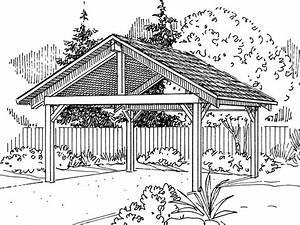 Woodwork Set Of Simple Carport Plans PDF Plans