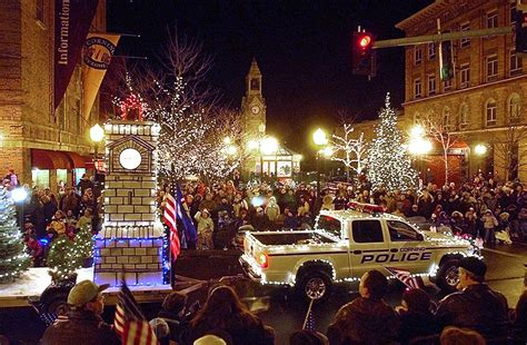 parade of lights corning ny parade of lights to a sunday news the leader