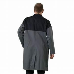 Blouse De Travail Homme : blouse de travail manches longues couleurs gris noir ~ Dailycaller-alerts.com Idées de Décoration