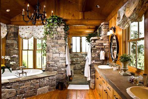 Bathroom Designs By Rocky Mountain Log Homes