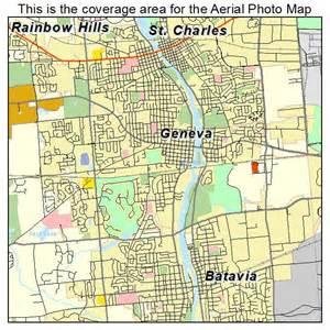 Geneva IL On Illinois Map