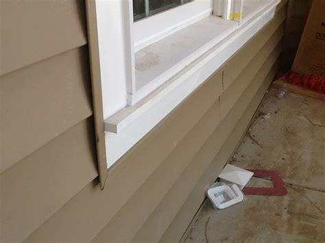 Azek Window Sill by Azek Pvc Window Trim With Apron Sill With Clay