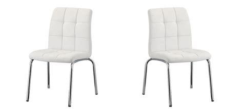 le bureau led design chaise de cuisine blanche en simili cuir à prix cassé
