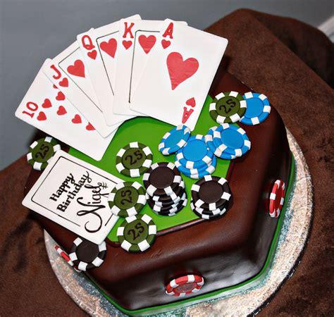 Poker Birthday Cake Cakecentralcom