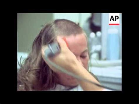 army recruits  long hair  regulation army haircuts
