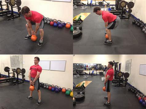deadlift kettlebell schwarzenegger arnold floor workout athletes exercises strength lower young body proformance tips