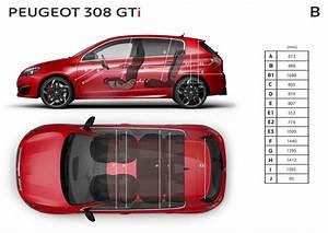 Dimensions 308 Peugeot : peugeot 308 gti by peugeot sport dimensions ext rieures et int rieures forum ~ Medecine-chirurgie-esthetiques.com Avis de Voitures