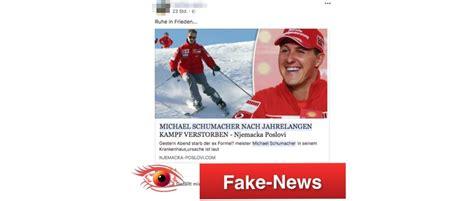 michael schumacher tot erklärt michael schumacher gestorben news oder echt