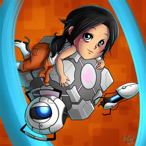 Chell Portal 2 By Project L On Deviantart