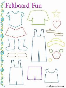 felt board clothes template just for them pinterest With felt storyboard templates