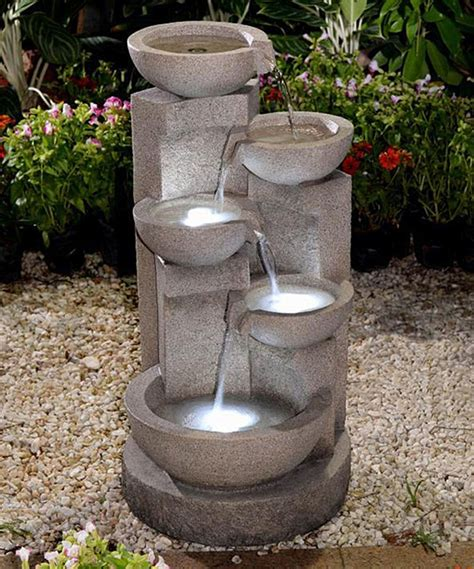 inspirational small water fountains  indoors home