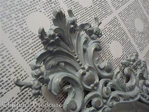 un miroir relooke blog de chiffon chineuse With couleur qui va avec le gris 8 le papier peint noir et blanc est toujours un singe d