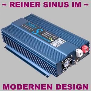 Wechselrichter 1000 Watt : wechselrichter reiner sinus 1200 watt 12v mit fi schalter ~ Jslefanu.com Haus und Dekorationen