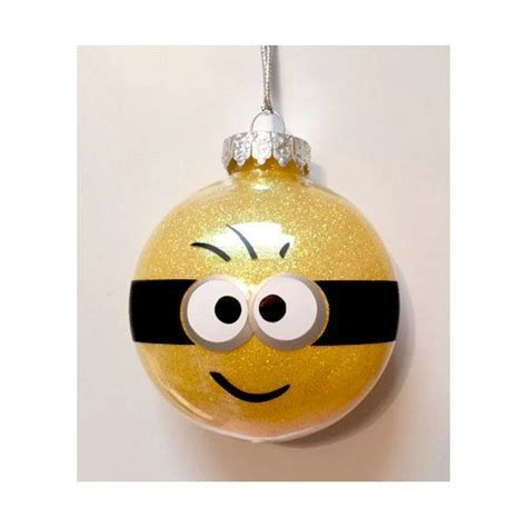 despicable me minion ornament personalized with your