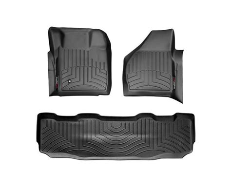 Weathertech Floor Mats F250 by 2008 2010 F250 F350 Duty Supercrew Weathertech