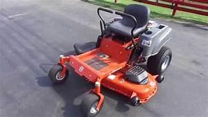 54 U0026quot  Husqvarna Rz54i Zero Turn Lawn Mower With 26 Hp Briggs