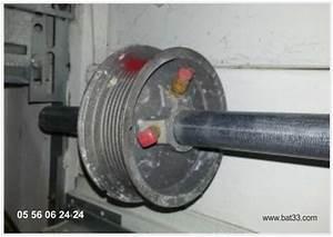 porte de garage roulettes bordeaux With poulie porte de garage
