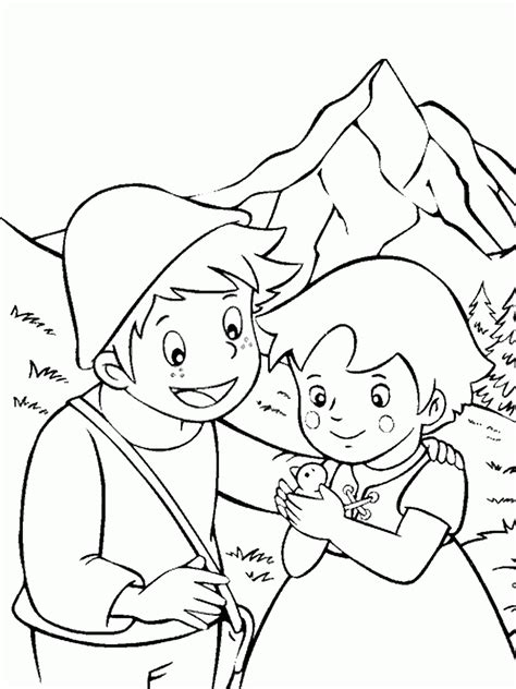 Coloring Pictures by Heidi Coloring Pages