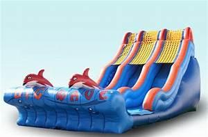 Big Baby Slide : big wave 20ft dual lane water slide splash park party ~ A.2002-acura-tl-radio.info Haus und Dekorationen