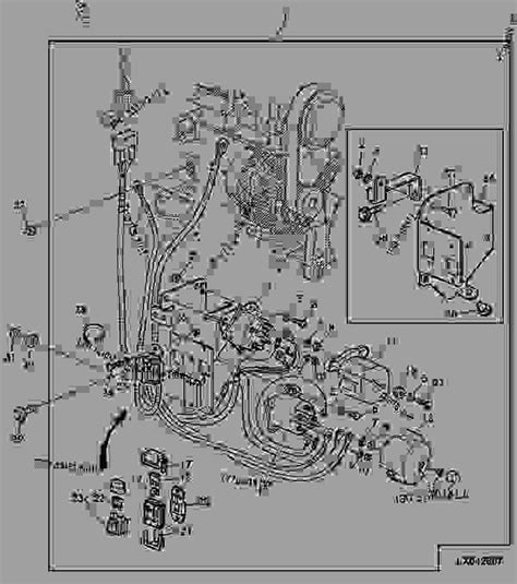 Deere 6320 Wiring Diagram by Wiring Harness Engine Starting Aid Not Used With