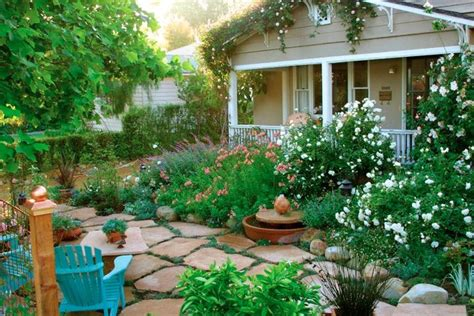 Cottage Style Backyards by 10 Cottage Gardens That Are Just Charming For Words