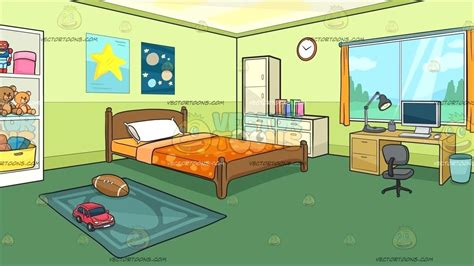 Bedroom Clipart Child Bedroom, Bedroom Child Bedroom